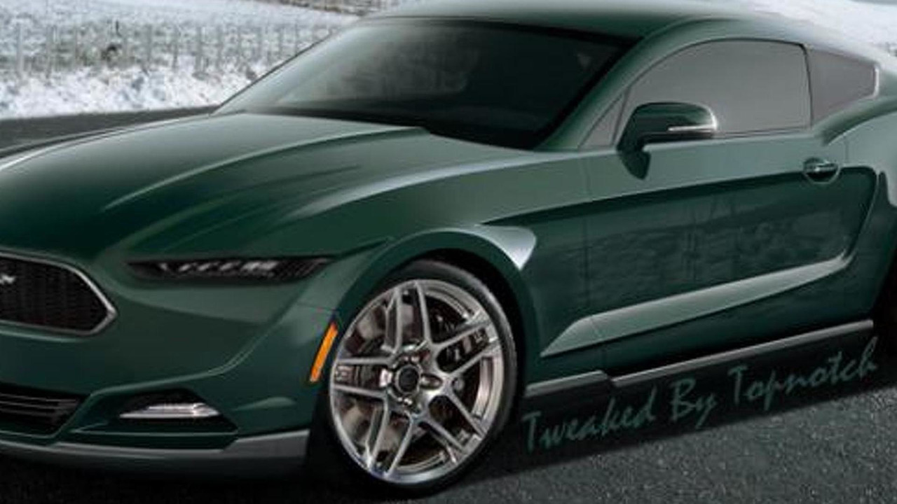 2015 Ford Mustang (rendering)