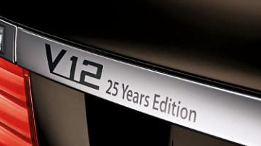 2013 Bmw 760li V 12 25 Years Anniversary Edition Announced