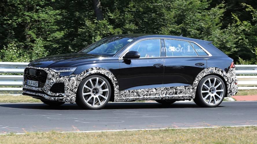Audi RS Q8 nouvelles photos espion