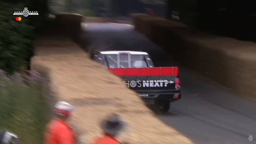 NASCAR Toyota And Lister-Jaguar Crashes At Goodwood