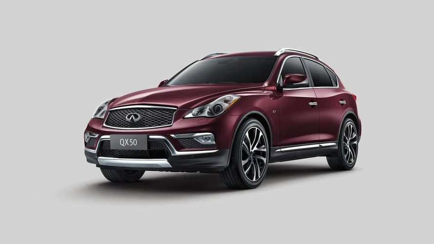 2016 Infiniti QX50 unveiled with revised styling and a longer wheelbase