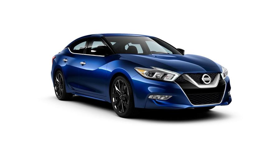 Nissan Maxima SR Midnight Edition introduced