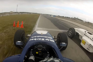 Open-Wheel Racer Uses Entire Track (And Then Some) To Make Incredible Pass