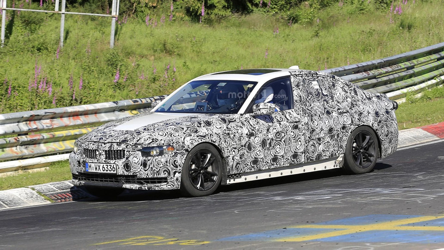2018 BMW 3 Series spy photos at the Nurburgring
