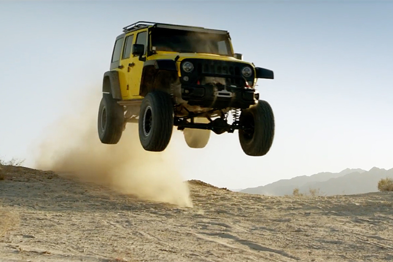 Watch this Jeep Wrangler Go for the Ultimate Joyride