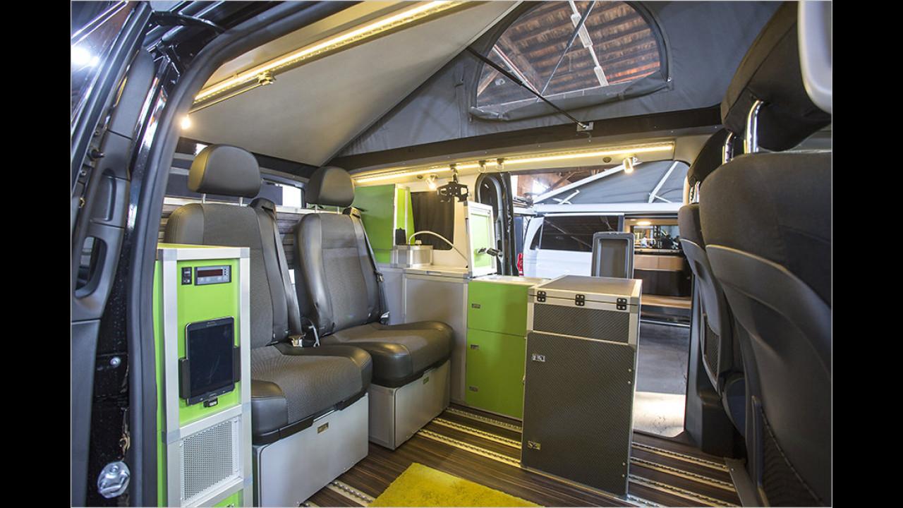 Allrad-Reisemobil von Terra-Camper