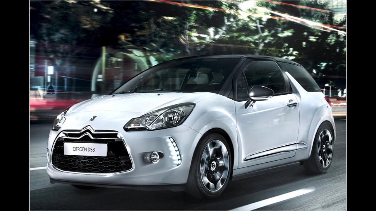 Geteilter Platz 8: Citroën DS3 e-HDi 70 EGS5