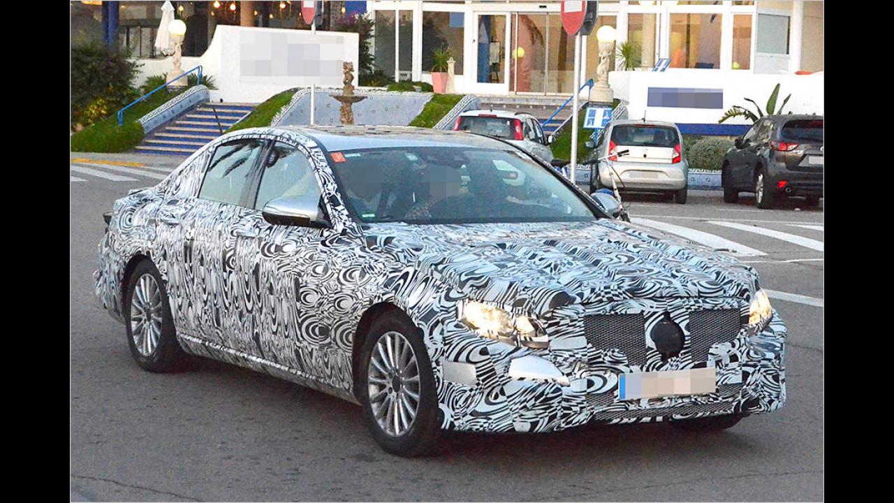 Neue Mercedes E-Klasse ab 2016