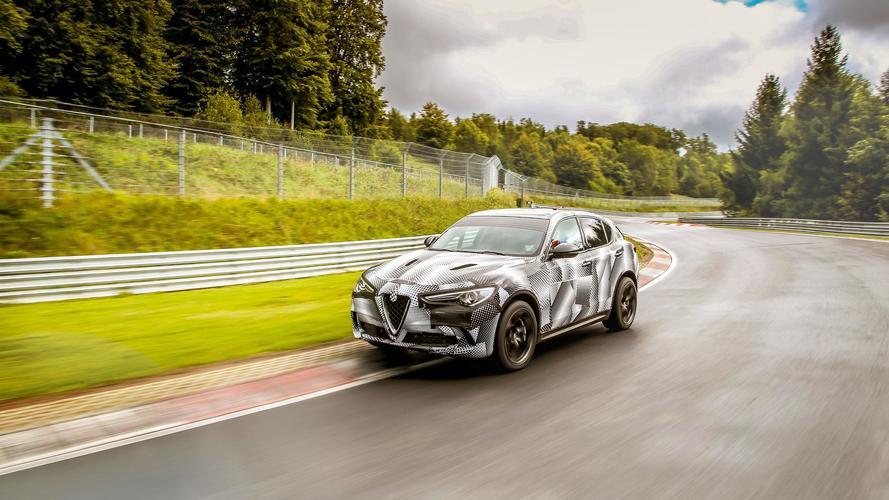 Nürburgring'in SUV kralı artık Alfa Romeo Stelvio Quadrifoglio