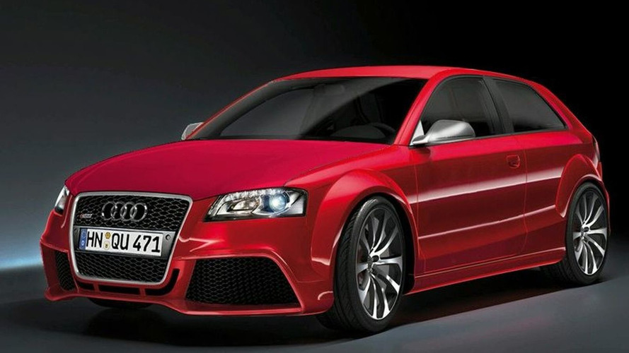 Upcoming Audi RS3 to Receive 5-Cylinder Turbo from TT-RS