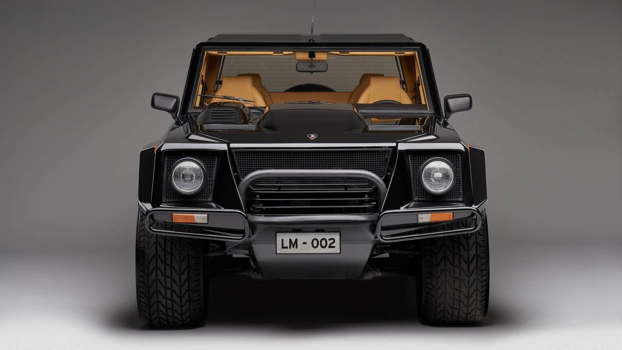 lamborghini lm002 premier 4x4 de la marque italienne photos. Black Bedroom Furniture Sets. Home Design Ideas