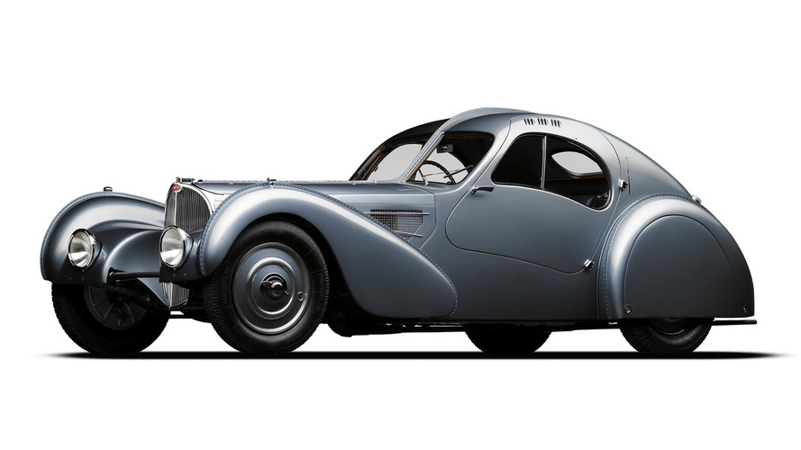 Chantilly - La première Bugatti 57 Atlantic exposée