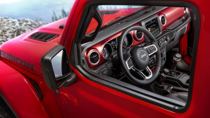 2018 Jeep Wrangler Shows Off Interior In Official Images