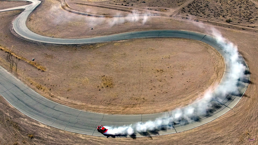 Ferrari motorlu Toyota GT86 ilk kez piste çıktı