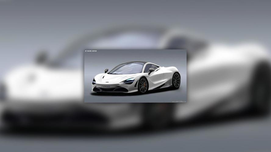 McLaren 720S rendering looks production ready