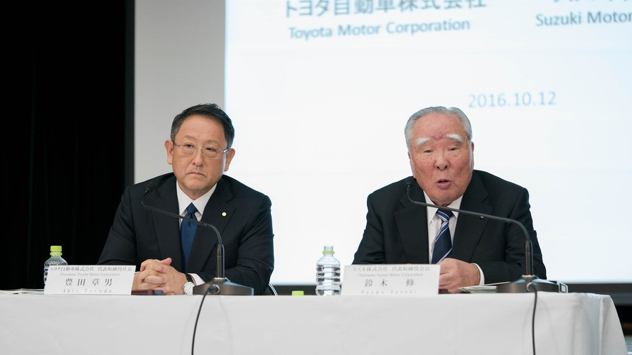 Toyota, Suzuki are going steady now thanks to new agreement