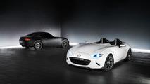 Mazda MX-5 Miata Speedster Evolution ve RF Kuro sergi araçları