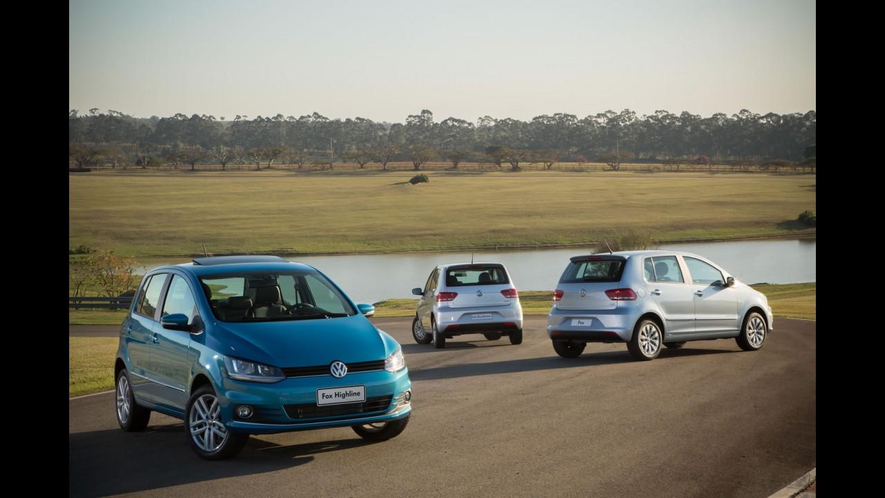 VW lança Fox 2017 com mais itens e novidades no acabamento - veja preços