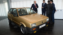 King Felipe VI of Spain surprised with his fully restored first ever vehicle