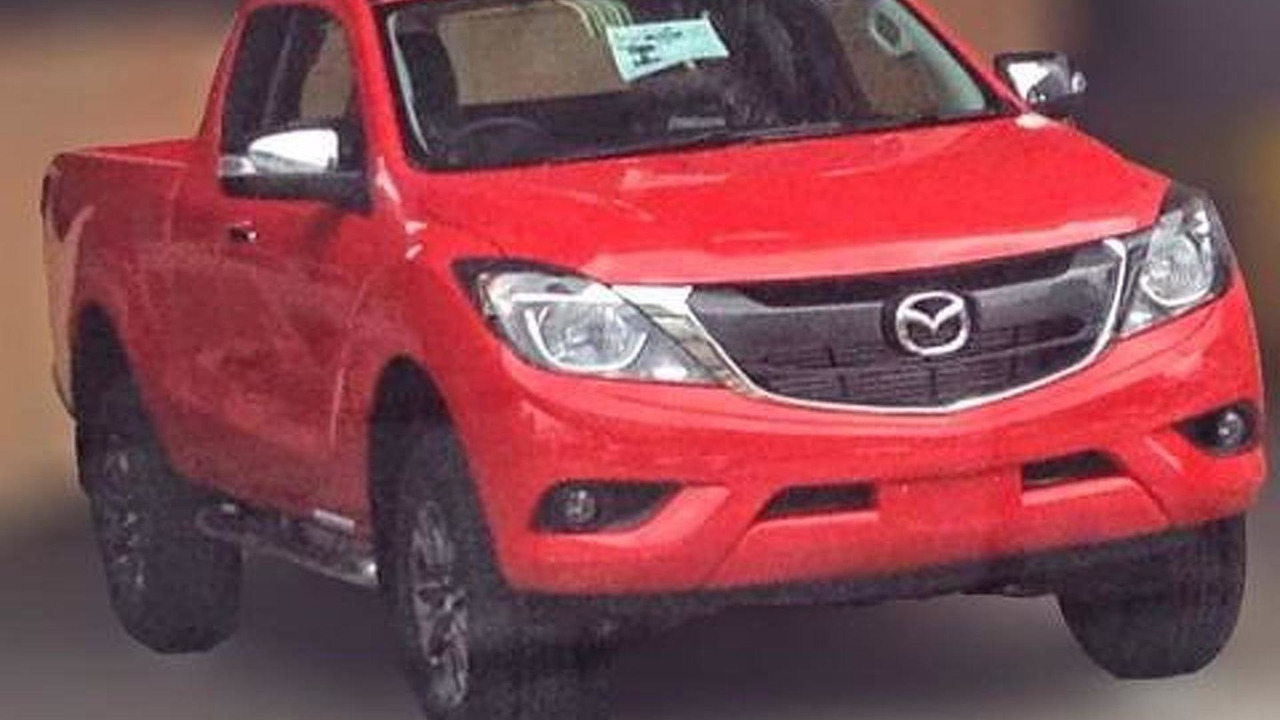 2016 Mazda BT-50 leaked photo