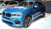 2015 BMW X5 M and X6 M at Los Angeles Auto Show