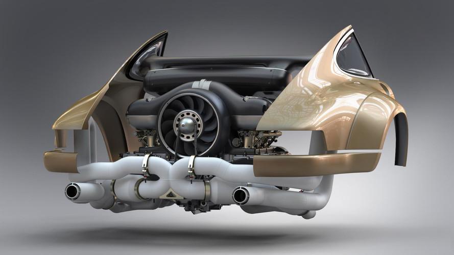 Singer e Williams criam supermotor (a ar) para o 911 clássico