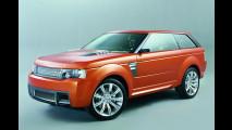 Stürmischer Land Rover