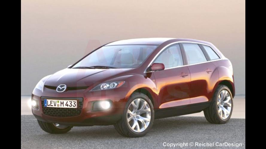 Mazda CX-7 kommt: Crossover-SUV wird 2006 vorgestellt