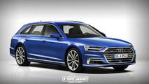Audi A8 Avant render