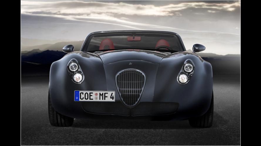 Weltpremiere in Genf: Der neue Wiesmann Roadster MF4