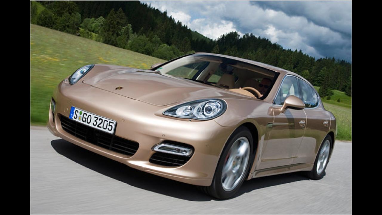 Porsches Oberklasse