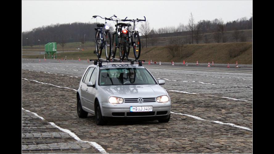 Der ADAC hat getestet: Wie sicher sind Fahrradträger?