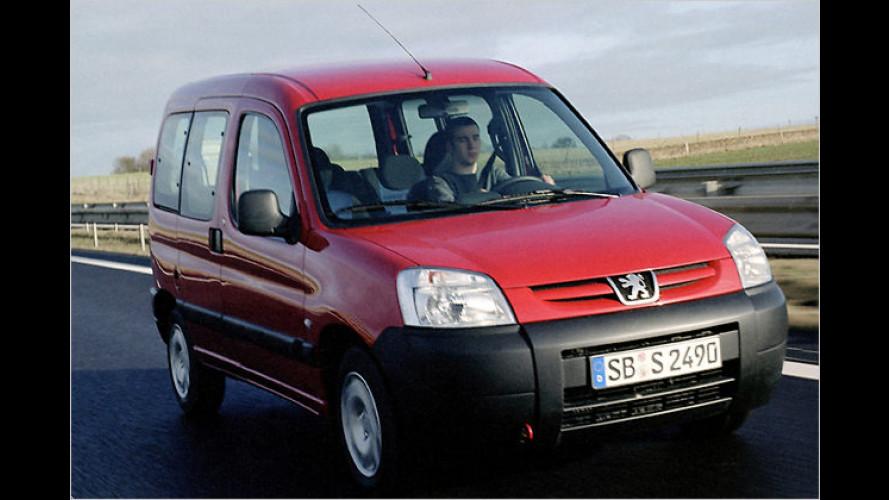 Peugeot behält den Klassiker Partner Origin im Programm