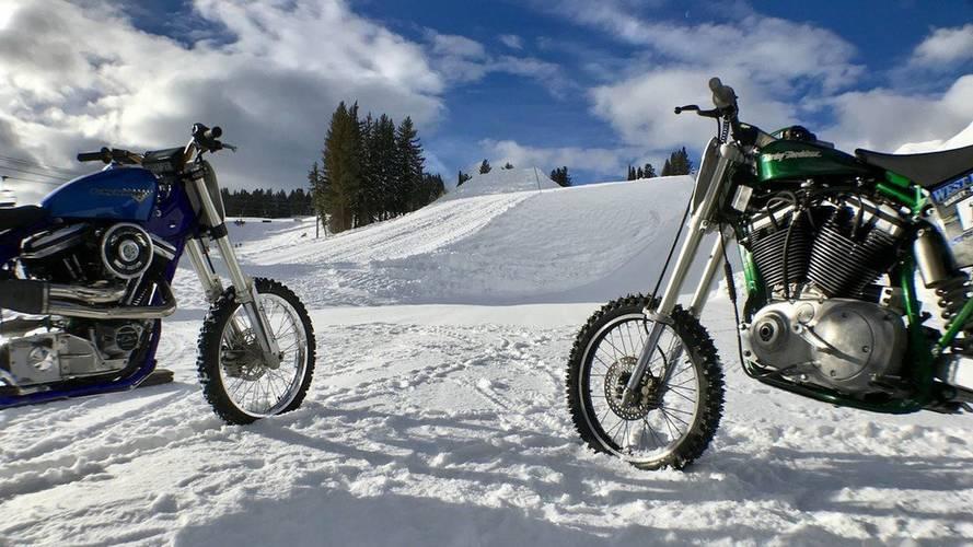 Harley-Davidson se inventa una competición sobre nieve en los X Games