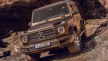 2019 Mercedes G-Class leaked official images