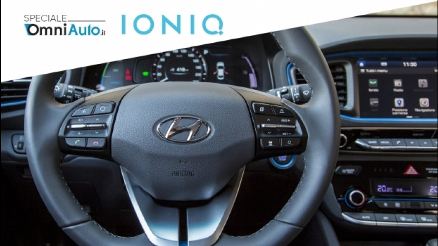 Hyundai Ioniq, felici e connessi [VIDEO]