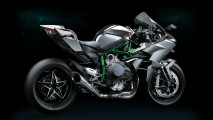 Salão de Colônia: Kawasaki Ninja H2R com compressor rende 300 cv!