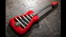 Exclusiva, guitarra inspirada na Alfa Romeo custa o equivalente a R$ 15 mil