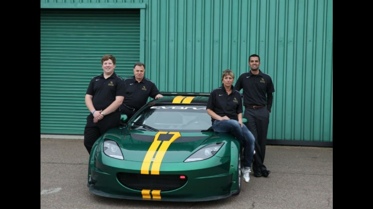 Lotus Racing apresenta o modelo de competição Evora GTC