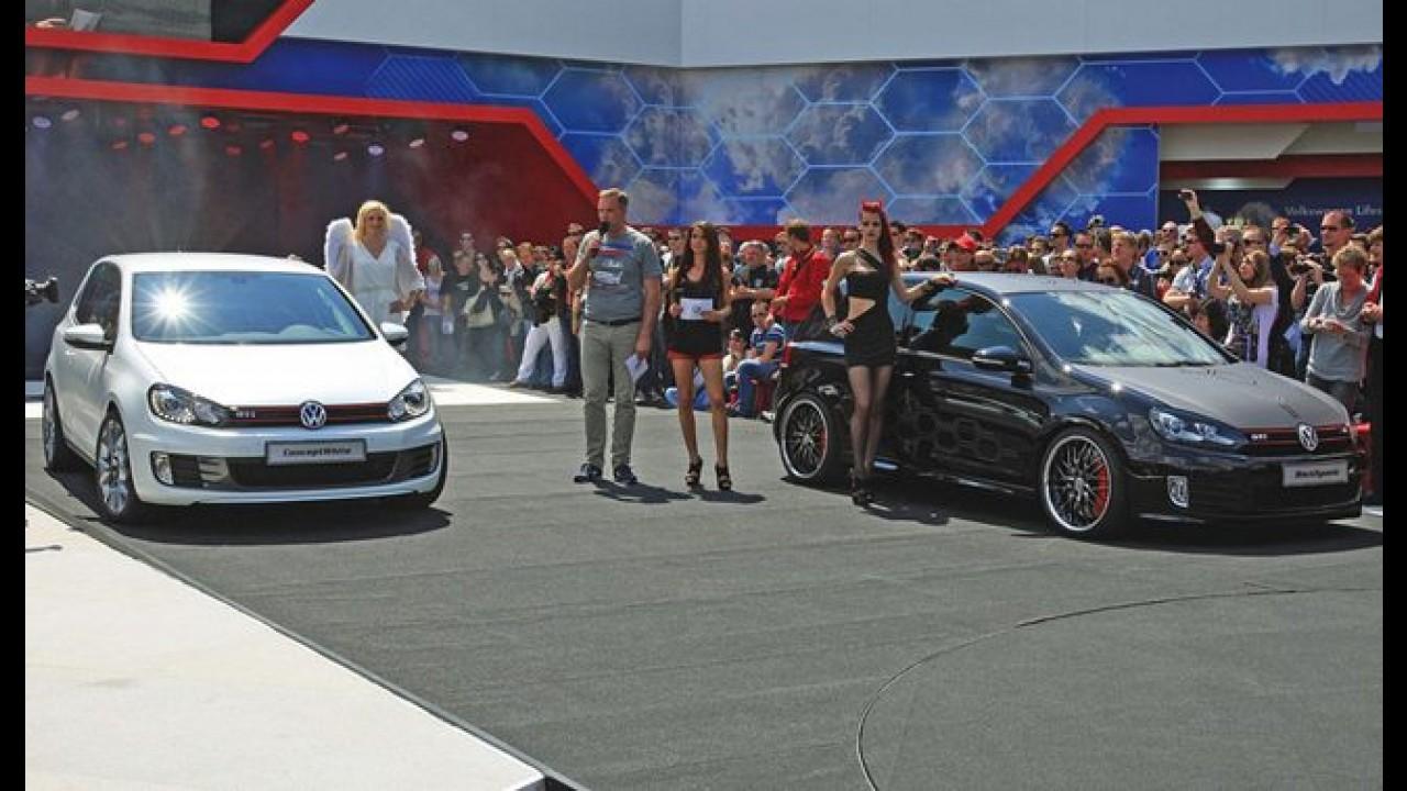 Wörthersee 2012: Volkswagen Golf GTi Concept White