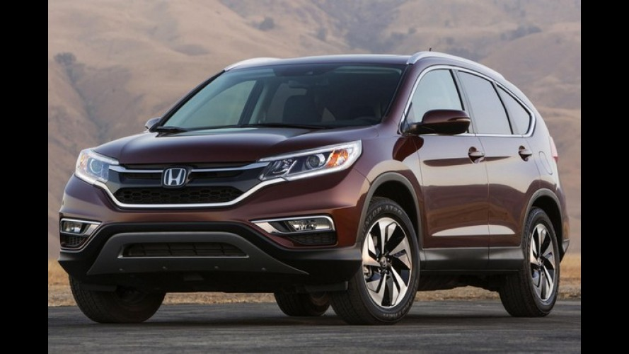 Honda CR-V 2015 reestilizado aparece em primeira foto