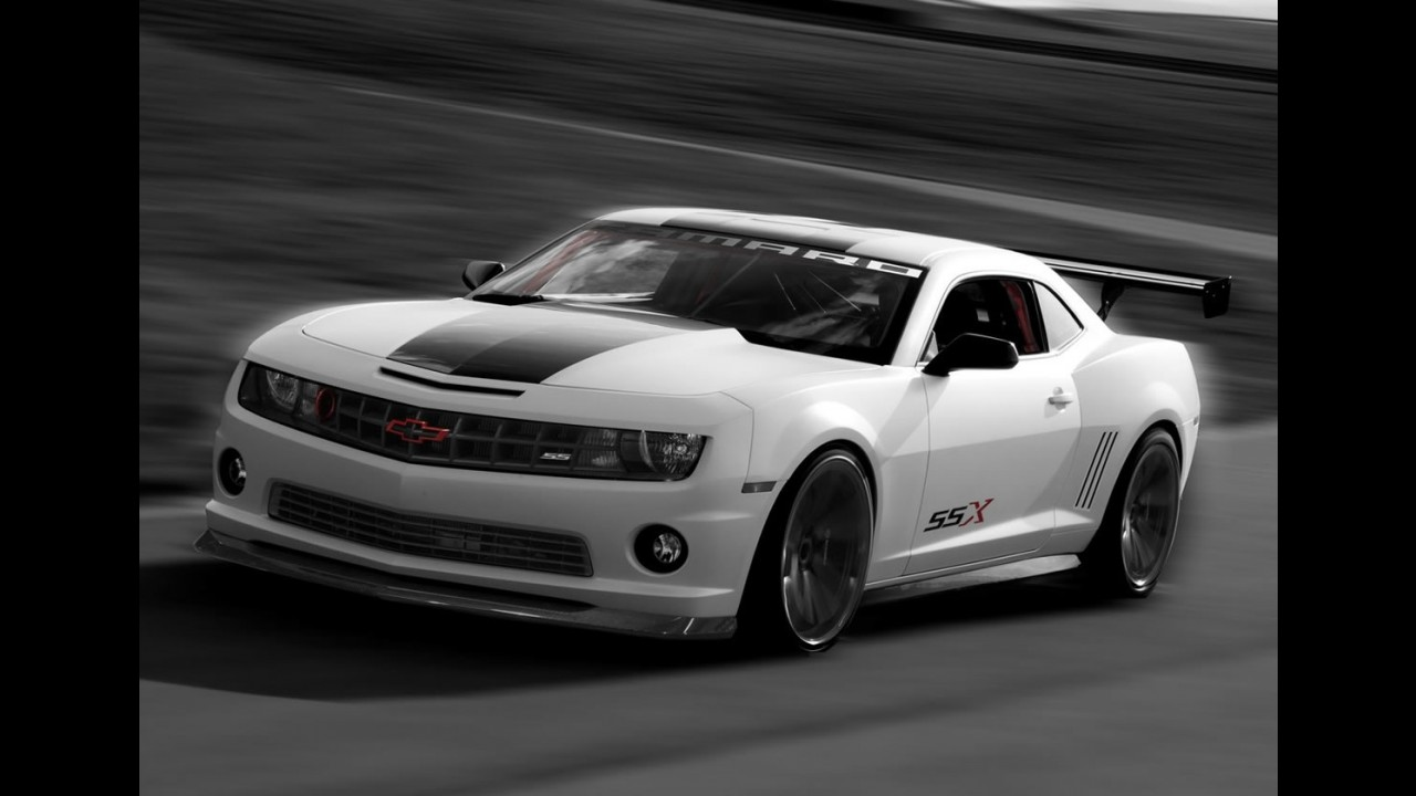 Chevrolet Camaro Red Flash e SSX Concept