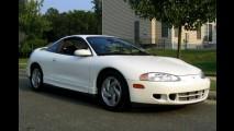 Carros para sempre: Mitsubishi Eclipse, esportivo japonês com alma americana