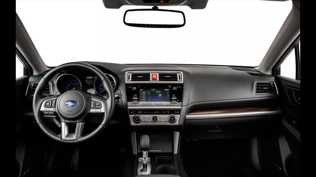 Vazou: nova geração do Subaru Legacy aparece antes do Salão de Chicago