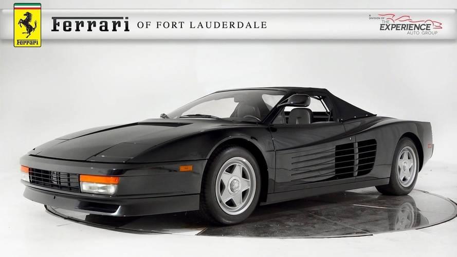 1986 Ferrari Testarossa Convertible For Sale