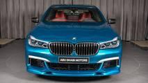 BMW M760Li xDrive in Long Beach Blue