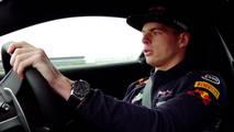 Max Verstappen Aston Martin Vantage 2018