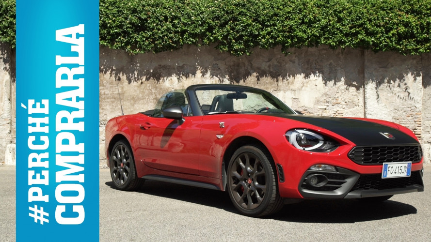 Abarth 124 Spider, perché comprarla... e perché no [VIDEO]