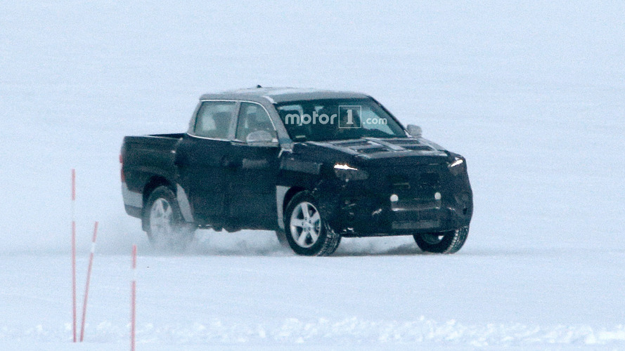 Ssangyong Actyon Sports spy phots