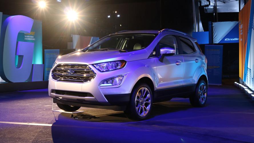Novo Ford EcoSport 2018: Veja vídeo e fotos ao vivo do SUV reestilizado
